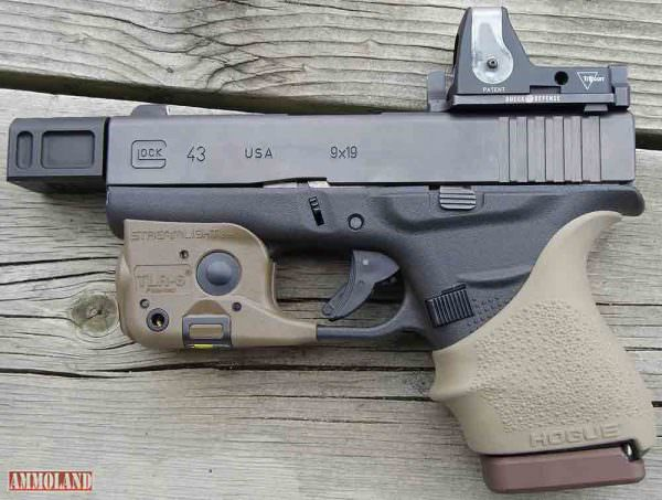 Roland Glock 43 with Dueck Defense RMR Mount